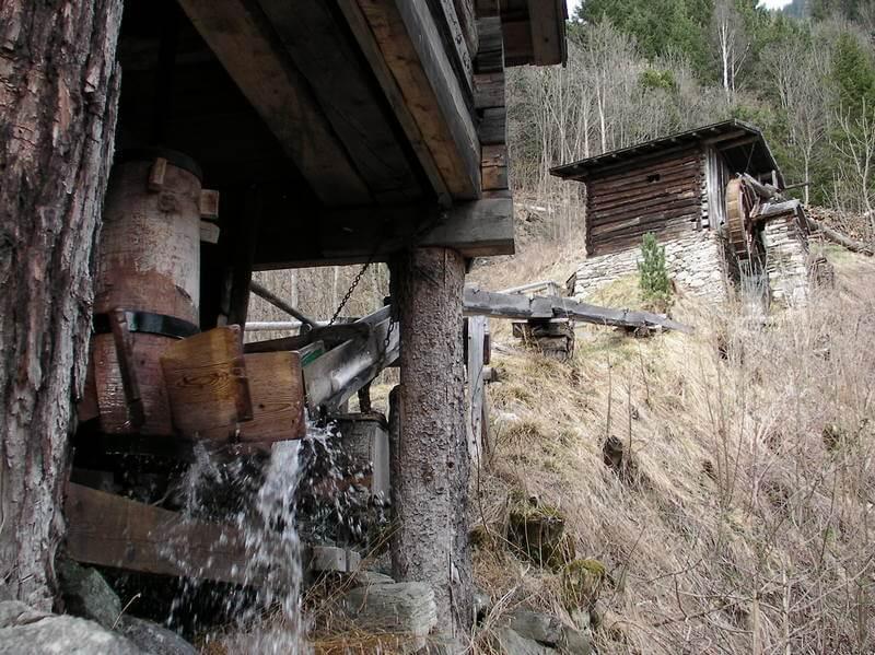 Bocksbergmühle von Unten