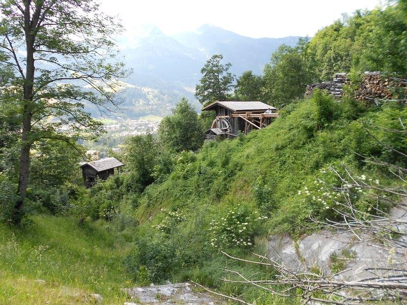Rauchbergmühle und Bocksbergmühle